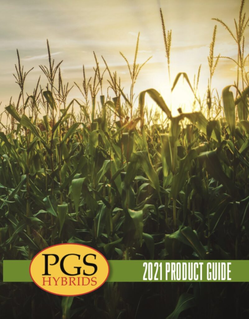 2021 PGS Hybrids Product Guide Cover